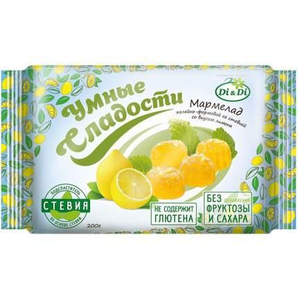 Мармелад Умные сладости желейно-формовой лимон 200 г