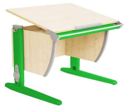Парта Дэми СУТ 14-01Д 75 см С задней двухъярусной приставкой Клен Зеленый