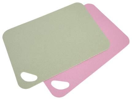 Набор разделочных досок Fissman 8004 Розовый, зеленый