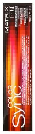 Краска для волос Matrix Color Sync 10V Очень-очень светлый блондин перламутровый 90 мл