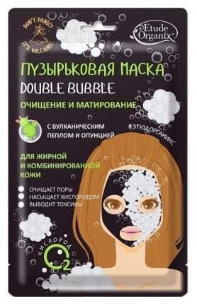 """Маска для лица Etude Organix """"Double Bubble с вулканическим пеплом и опунцией"""