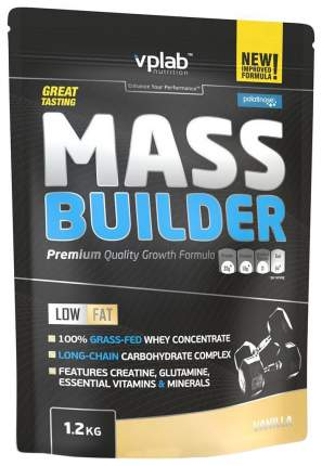 Гейнер VPLab Mass Builder 1200 г Vanilla