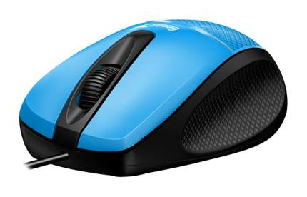 Проводная мышка Genius DX-150X Cyan/Black (31010231102)