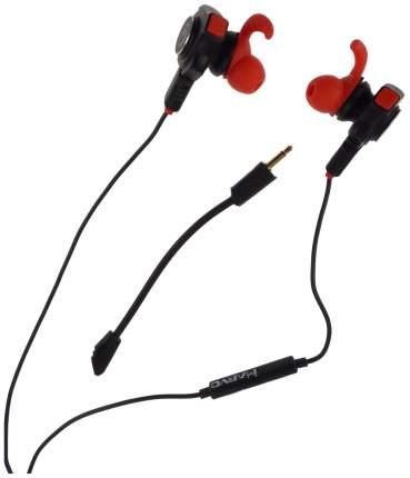 Игровые наушники Marvo Scorpion GP-001 black Red/Black