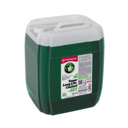 Охлаждающая жидкость TOTACHI SUPER LLC GREEN -50C 10л.