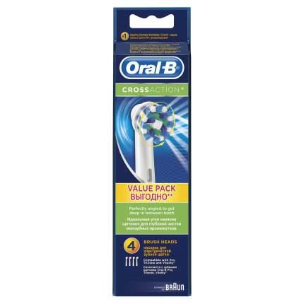 Насадка для зубной щетки Braun Oral-B EB50 Cross Action 4 шт