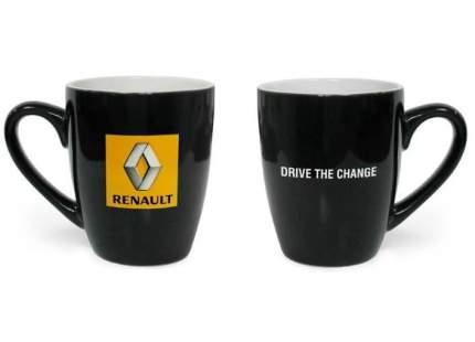 Керамическая кружка с логотипом Renault Mug Black, 7711546585