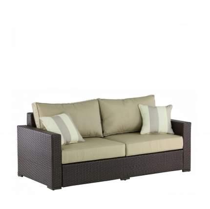 Плетеный диван AFM-215B Brown/Light