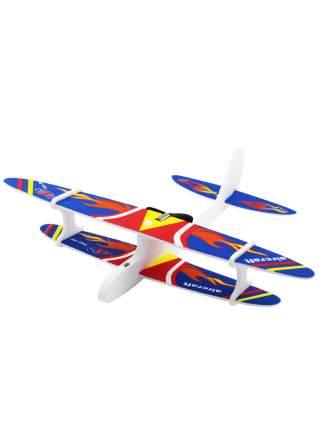 Самолет Kids Choice с моторчиком синий 27 см