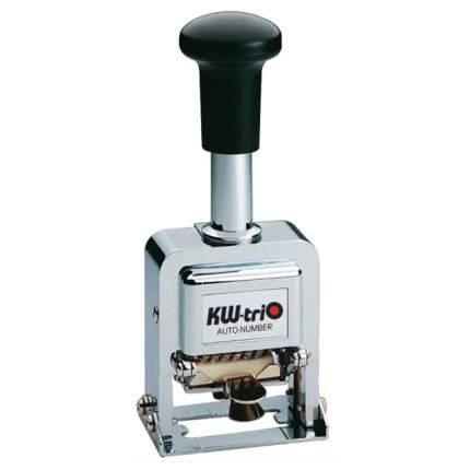 Нумератор автоматический KW-Trio 20600. 6 разрядов. Высота шрифта: 4,8 мм.
