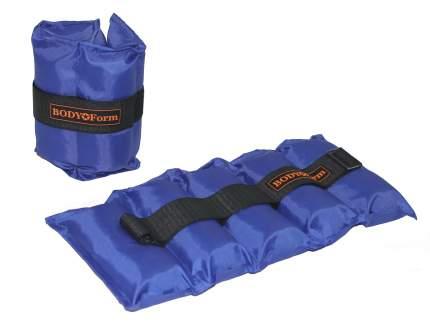 Утяжелители Body Form WUN01 2 x 2 кг, синие