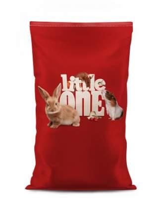 Корм для шиншиллл Little One Chinchillas, с юккой и сушеным яблоком, 15кг
