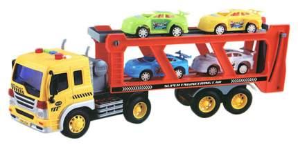 """Игровой набор """"Автовоз с 4 машинками"""" (свет, звук)"""