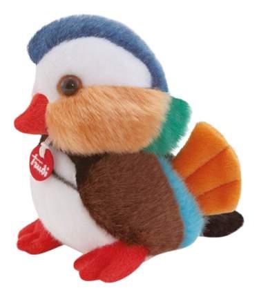 """Мягкая игрушка Делюкс """"Уточка мандаринка"""", 14 см Trudi"""
