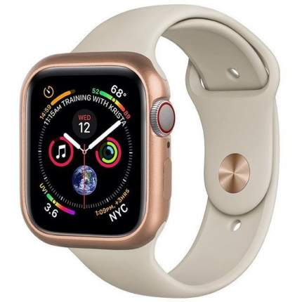Чехол COTEetCI Aluminium Magnet Case для Apple Watch Series 4 44 mm Gold