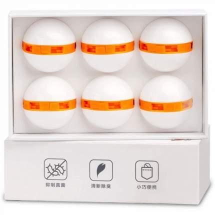 Шарики-дезодоранты для обуви Xiaomi Clean-n-Fresh 6 шт (White)