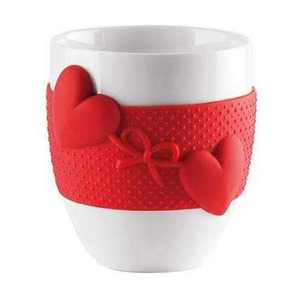 Кружка guzzini, Love, 360 мл, красный