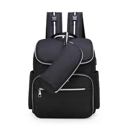 Многофункциональный рюкзак для мам Happy Mom черный