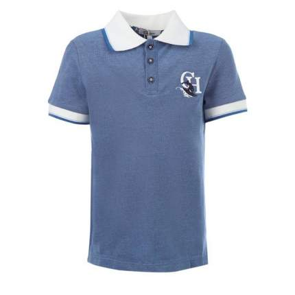 Рубашка-поло Choupette, цв. синий, 122 р-р