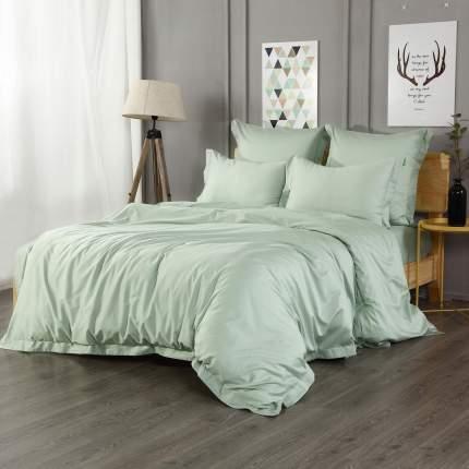 Пододеяльник 2-спальный 200x220см Sofi De Marko Марми, цвет зеленый