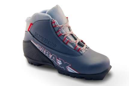 Ботинки лыжные MXN-300 серые, размер 34