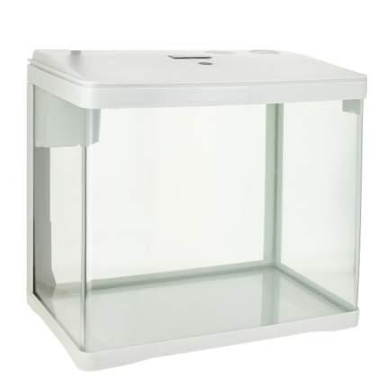 Аквариумный комплекс для рыб Prime, бесшовный, белый, 33л