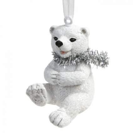 Елочная игрушка Феникс Present мишка,  3х4х4 см