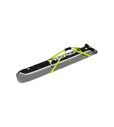 Head Ski Single Skibag Antracite/Grey-Neon Yellow (18/19) (195)