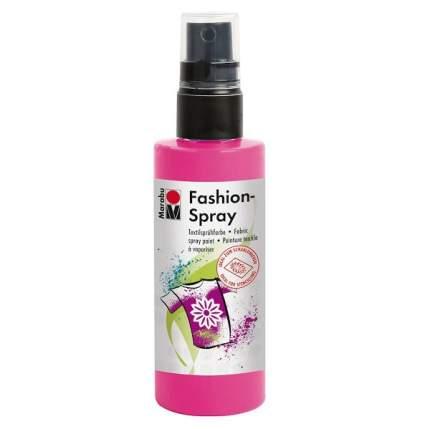 Краска-спрей Marabu Fashion Spray Для ткани 171950033 розовый 100 мл