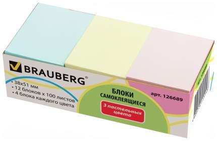 Блок самоклеящийся BRAUBERG 126689 1200 шт