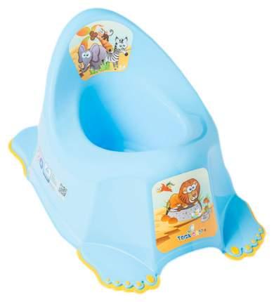 Горшок детский Tega baby Сафари цвет синий