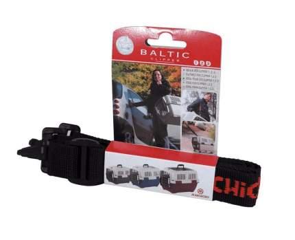 Ремень для переносок для животных Marchioro Baltic № 1-3, черный, 2,5 х 110 см