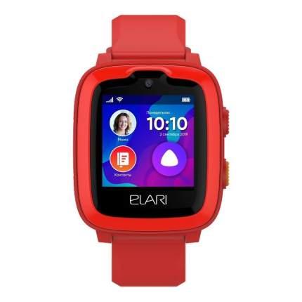 Детские смарт-часы ELARI Kidphone 4G Red/Red