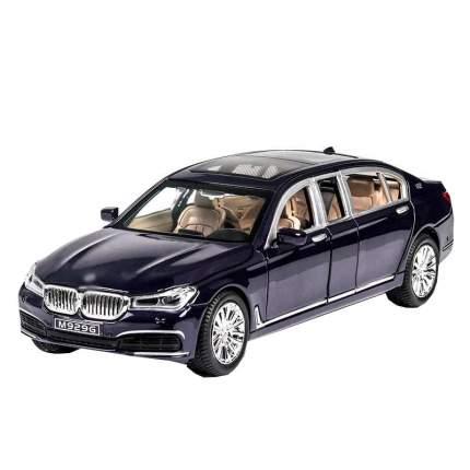 Машина инерционная Cars Представительский седан BW7 синий, 22 см