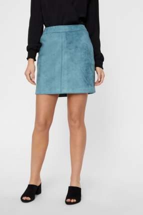 Юбка женская Vero Moda 10210430 голубая XL