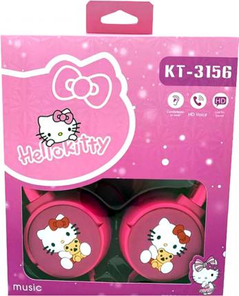 Наушники NoBrand KT-3156 Hello Kitty