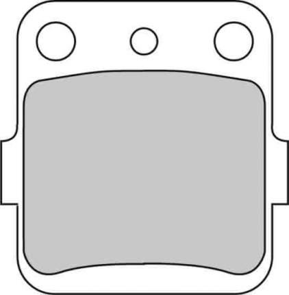 Тормозные колодки передние/задние Ferodo FDB381P для мотоциклов