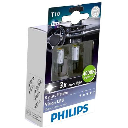 Лампа  Wbt10 Led 12933 4000k Philips арт. 12933