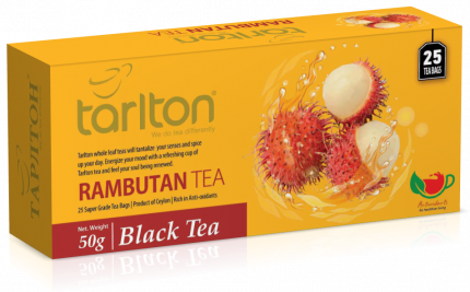 Чай Тарлтон черный рамбутан