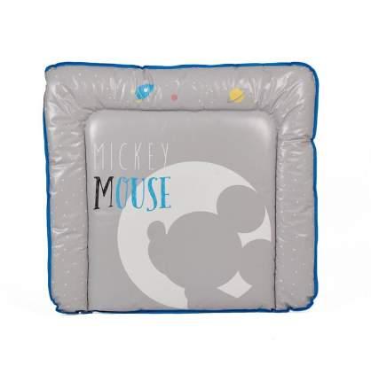Доска пеленальная мягкая Polini Kids Disney baby Микки Маус 77x72, серый