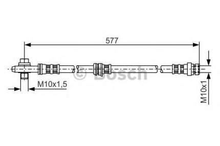 Шланг тормозной системы Bosch 1987476282