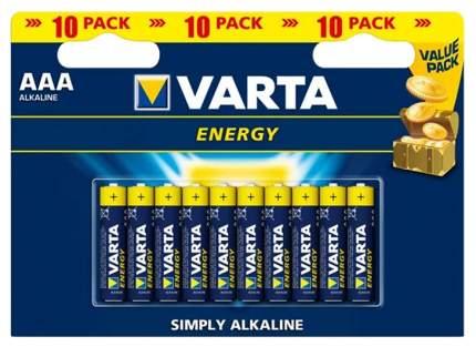 Батарейка Varta Energy LR03-10BL 10 шт