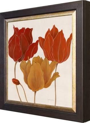 """Ключница """"Tava Studios - Austin's Tulips II"""" Венге"""