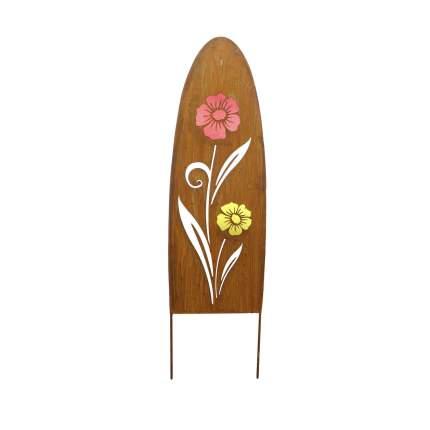 Декоративный садовый штекер 'Цветы' (05592)