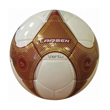 Футбольный мяч Larsen Vertu №5 white/red