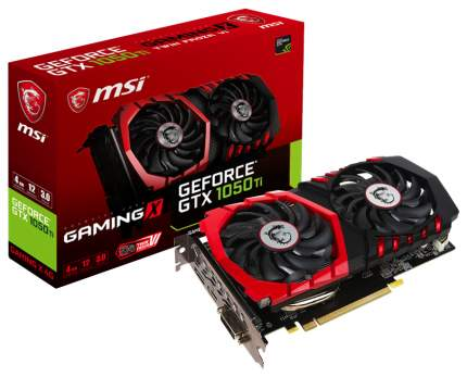 Видеокарта MSI Gaming X GeForce GTX 1050 Ti (GTX 1050 TI GAMING X 4G)