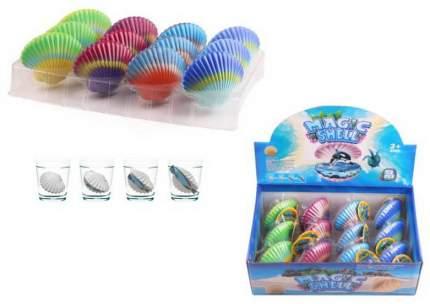 Игровой набор Junfa toys Ракушка растущая в воде 12 шт в дисплее