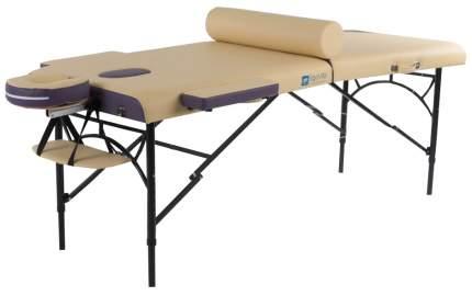 Массажный стол складной ErgoVita Master Alu Comfort beige/purple