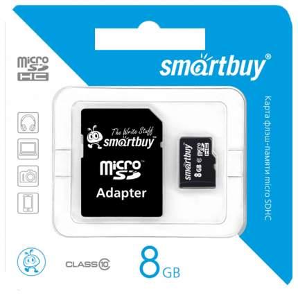 Карта памяти SmartBuy Micro SDHC SB8GBSDCL10-01 8GB