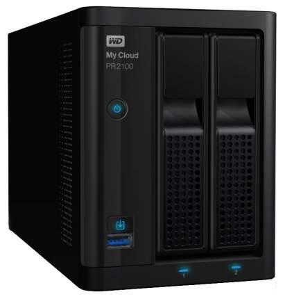 Сетевое хранилище данных Western Digital WDBVND0000NBK-EEUE